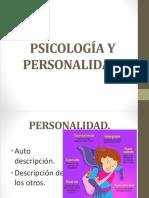 Psicología y Personalidad