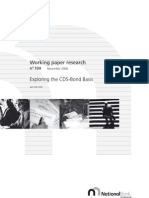 CDS Bond Basis