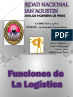 Funciones de Logistica