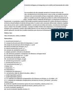 Modelado de Los Efectos Del Contenido Inicial de Nitrógeno y La Temperatura en La Cinética de Fermentación de La Sidra Dura