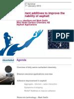 Ni Ciht Additives to Improve Sustainability of Aspalt Jan 2013