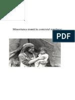 Minoritatea Rroma in Contextul Romanesc