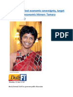 Sri Lanka has lost economic sovereignty  target of neoliberal economic hitmen  Tamara Kunanayakam.docx