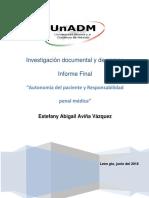 A1S8U3- Investigación Documental y de Campo Informe Final