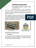 Informe Calculos Generales Explosivos Sara
