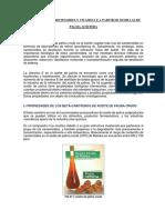 Proceso de Producción Del Aceite de Palma - Carotenoides