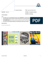 lesson 7 - year 7 unit 1 design assessment 2018