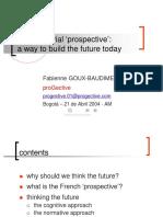 prospectiva francesa presentación