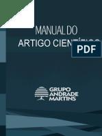 MANUAL DO ARTIGO CIENTÍFICO 2016