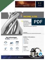 AW Tech Datasheet Inconel X 750