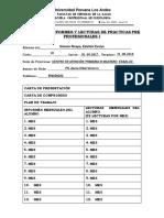 Ficha de Control de Documentos e Informes