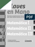 Llaves en Mano Matematica