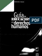 Guía derechos humanos