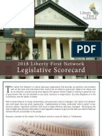 LFN 2018 Florida Legislative Scorecard