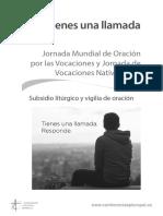2018 Jornadavocaciones Vocacionesnativas Subsidioyvigilia