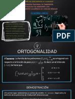 Ortogonalidad Tchevicheff