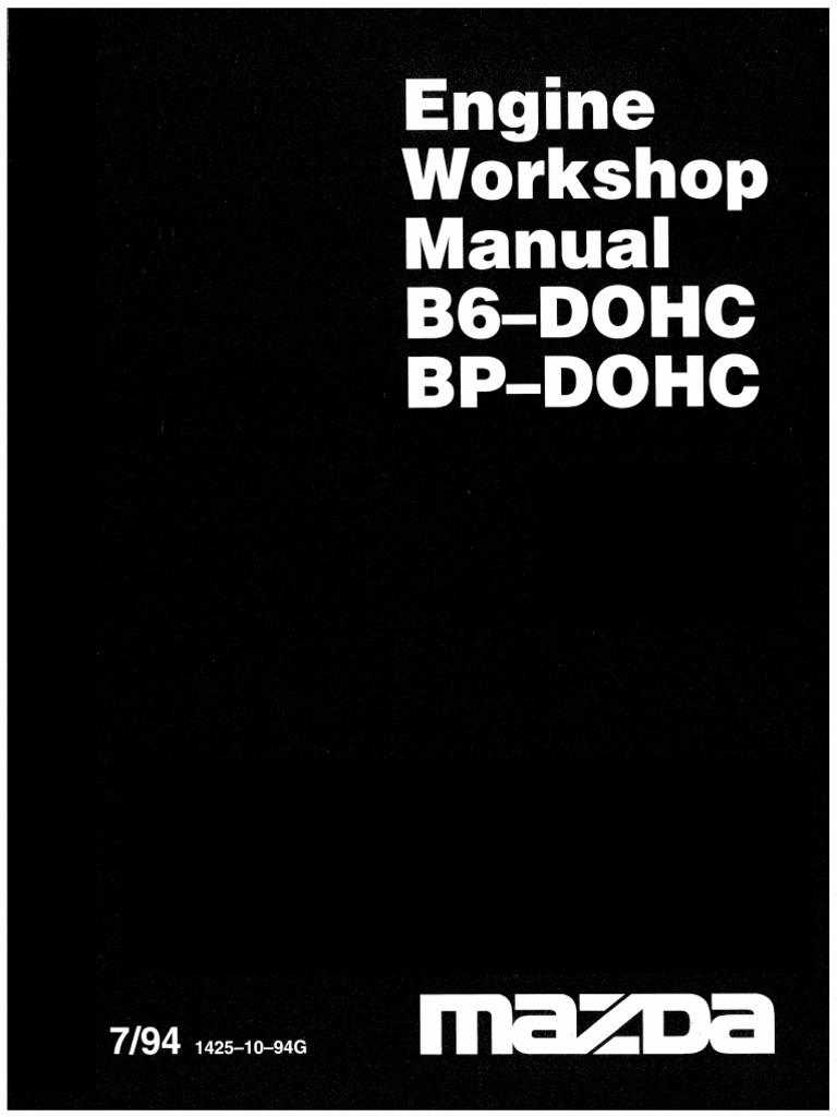 58610991 mazda engine bp b6 workshop manual pdf rh scribd com Automatic BP Machine Manual BP Position
