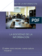 La Sociedad de La Informacion
