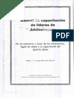 Manual de Capacitación de Líderes de Adolescentes