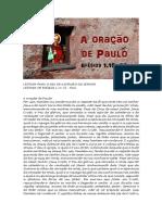 A Oração de Paulo