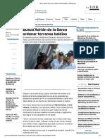 01-06-18 Busca Adrián de la Garza ordenar terrenos baldíos - El Horizonte