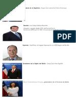 Poderes Del Estado y Autoridades de Chile