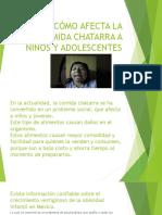 Informe Final Comida Chatarra
