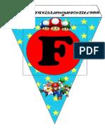 Banderín Mario