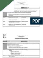 Plan de trabajo 5° básico