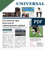 Periódico Calentamiento Global