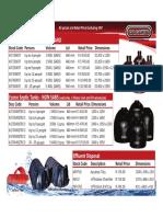 Calcamite Price List July 2017 SEPTIC TANKS