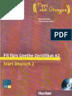 a2 Knjiga Buch Gete