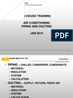 Training - Piping and Ducting