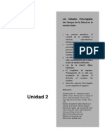 Unidad 2 Etica y Deontología Profesional