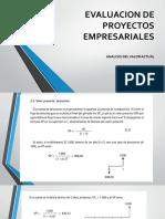 Evaluacion de Proyectos Empresariales