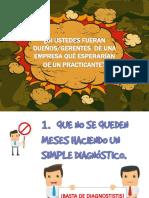 Diagnostico y propuestas en una empresa