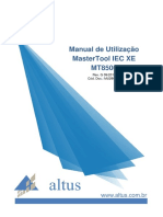 Manual de Utilizacao Mastertool Iec Xe (Mt8500)