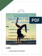 Informe Educacion Fisica
