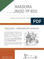 Limadora Pinondo Tp 850