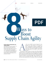 8 Eight Ways to Boost Supply Chain Agility