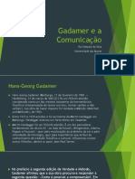 Gadamer e a Comunicação
