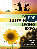 Tamar Sustainable Living Expo - Terms and Conditions