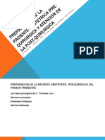 Preparacion de La Paciente Pre-quirurgica y Atencion de 7 Clase