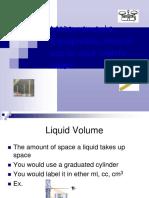 5 measurement  volume