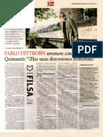 Pablo Dittborn arremete contra el mito Quimantú Hay unas distorsiones tremendas