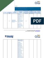 Formato Para Elaborar Cronograma de Actividades