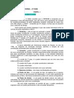 Direito Constitucional - 2 Fase - Parte Material