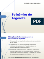 4 - Polinômios de Legendre