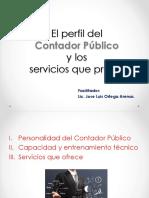 2. El Perfil Contador Publico y Los Servicios - Privado