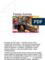 Festa Junina Slides